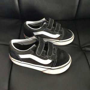 Vans Suede Toddler Sneakers Sz 7
